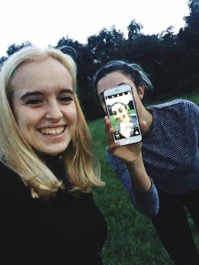 Mobile Conversations Photography Themes Young Women Photographing Two People Happiness Selfie Fun Young Adult Portrait Canon Canoneos Canon600D CanonEOS600D Canonphotography