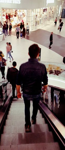 Staircase Only Men Large Group Of People Indoors  Adults Only Adult People Men Real People Mall Photo Malls Mallstyle Long Goodbye Goodbye Goodbye My Friend Good Bye To Your Love Let's Go. Together.