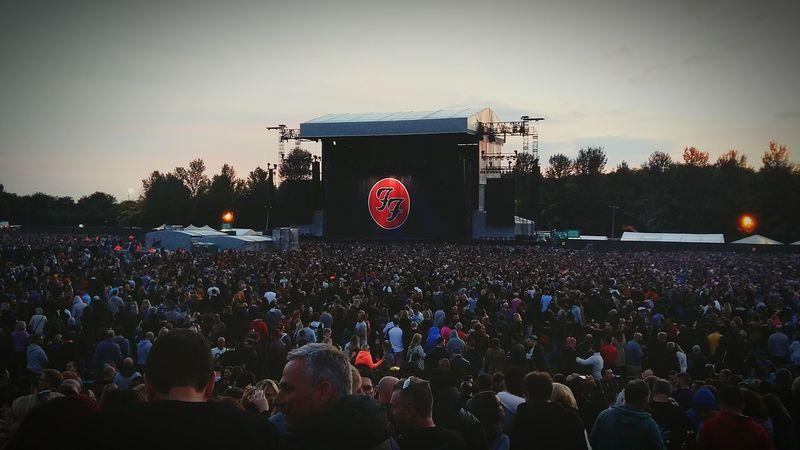 Foo Fighters Miltonkeynes Evening Music