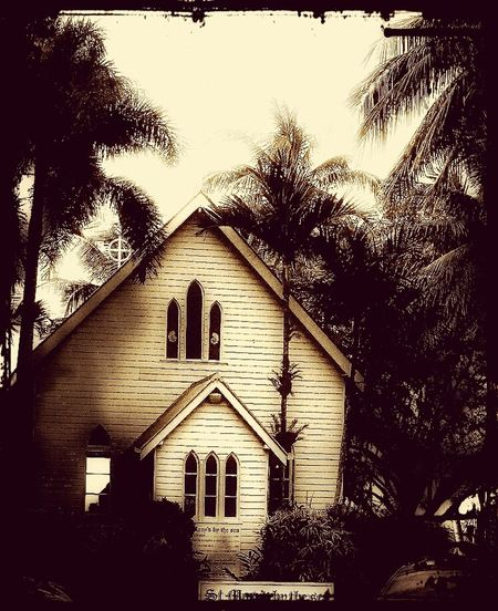 Vintage Church Portdouglas Taking Photos Hanging Out