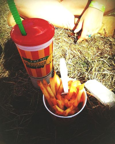 Music Festival Country Country Music Cheese Fries Lemonade Carnival Outdoors