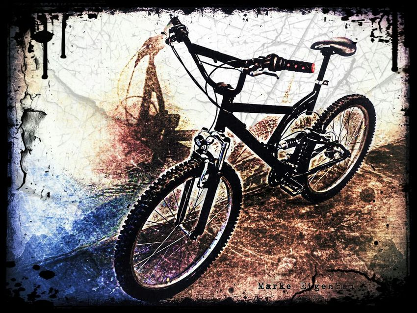 my self made bike Grunge Bicycle Bicycles My Bicycle