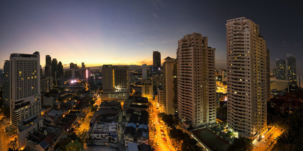 Sunrise over Changkat Architecture Building Exterior Bukitbintang Changkat City City Life Cityscape Dawn Fredpius High Angle View Kuala Lumpur Kuala Lumpur Malaysia  Malaysia Malaysia Scenery Modern Morning Panorama Panoramic Photography Perspective Residential District Residential Structure Skyscraper Sunrise Tall - High Landscapes With WhiteWall