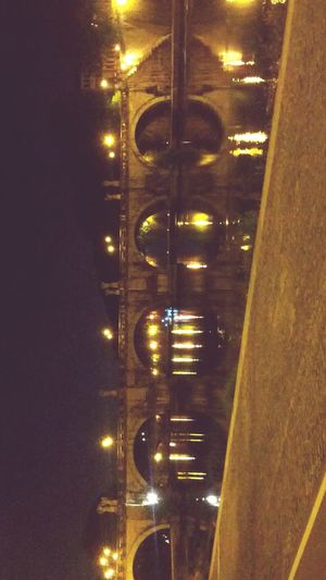 TrustEver Tiberinus River Rome Night Light Bridge Oldyellowbricks Citylife