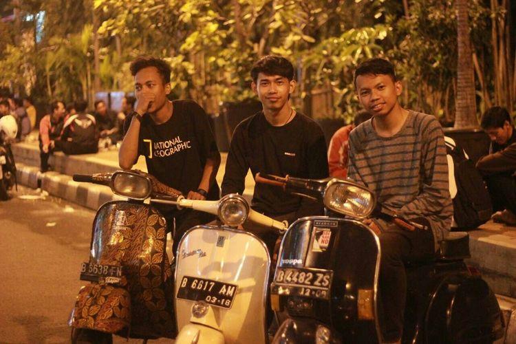 That's Me EyeEm P150X Vespa INDONESIA Jakartalastnight senayan Jakartacity
