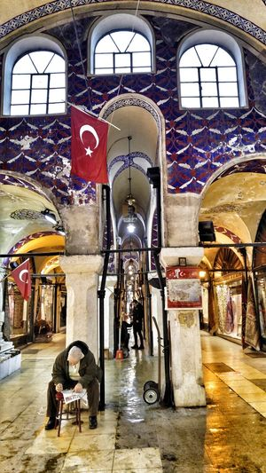 Indoors  City Life. Market Architecture Streetphotography From My Point Of View Istanbul Turkey Memories
