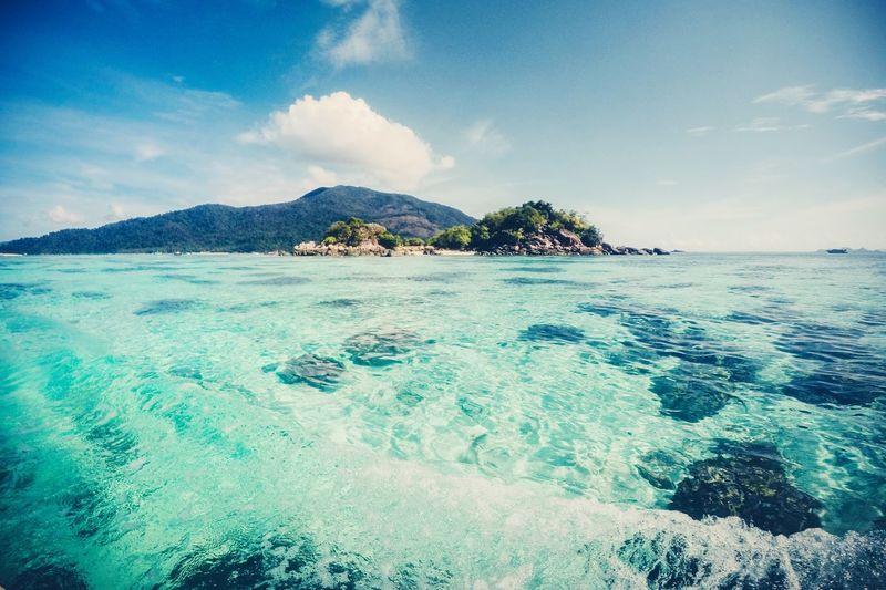 Koh Lipe Andaman Andaman Sea Holiday Island Satun Satun_Thailand Thailand Sky Water Sea Cloud - Sky Beauty In Nature Scenics - Nature Land Nature Blue Outdoors
