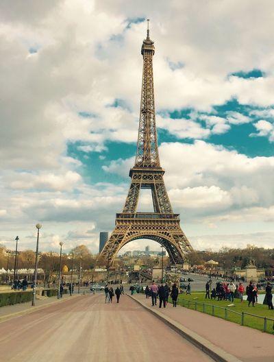 Paris Eiffelturm Tower