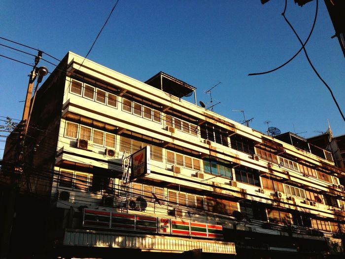 Urban City Bangkok Building Old Store 7-11 First Eyeem Photo