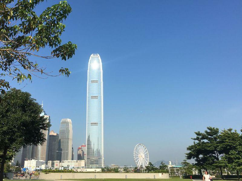 HongKong Hong Kong Architecture Hongkong Photos Observation Wheel Skyscrapers