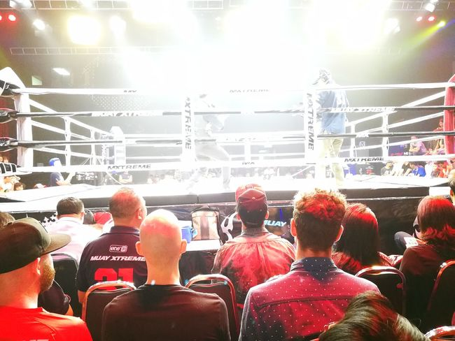 MuayThai Stadium Sport Muay Thai Boxing Muay Thai & Sports By ITag Crowd Spectator Audience Fan - Enthusiast Arts Culture And Entertainment Large Group Of People Event People Fun Enjoyment Adult Men Sports Team Togetherness Soccer Match - Sport American Football - Sport Outdoors
