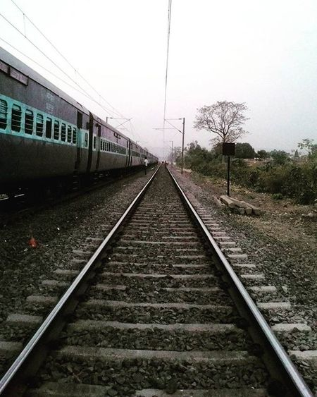 Final stoppage before my train entered the maze of hills near Budni Station. Couldn't capture because of nighfall when train reached there. Solotrip Solotraveler Heading Home Maze Of Hills Train Journey Indian Railways Stoppage