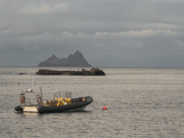 Ireland Nautical Vessel Outdoors Remote Scenics Sea Seascape Skelligs Star Wars The Force Awakens First Eyeem Photo