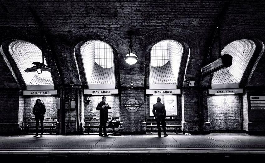London Underground Bakerstreet Streetphotography Blackandwhite Black And White Black & White Traveling Travel England My Year My View