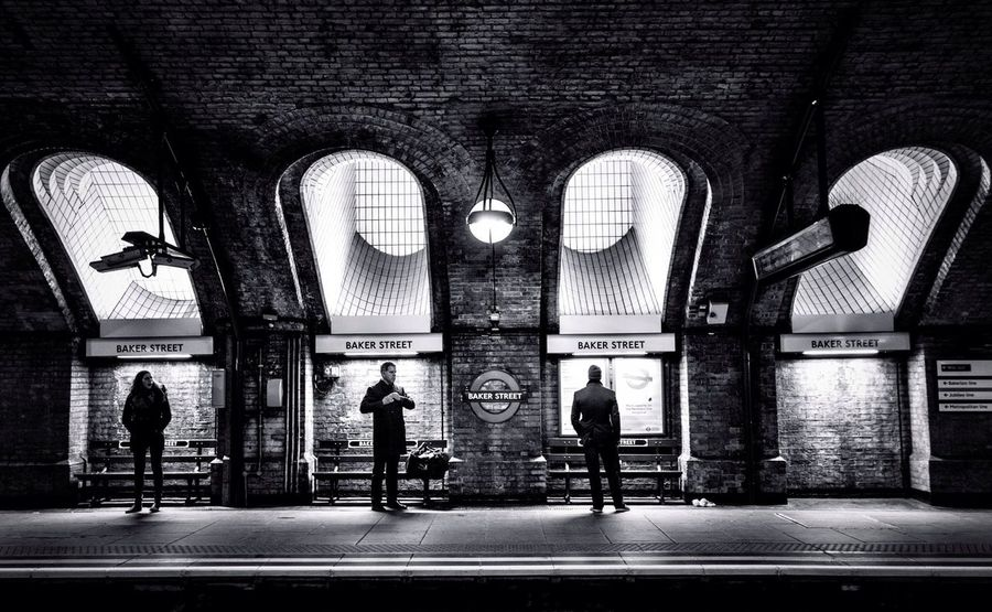 London Underground Bakerstreet Streetphotography Blackandwhite Black And White Black & White Traveling Travel England My Year My View