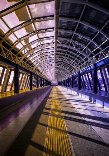 Russia Kazan Transportation Rail Transportation Indoors  The Way Forward Railroad Station Platform Railroad Station Colour Your Horizn Built Structure Architecture Day Public Transportation No People Railroad Track