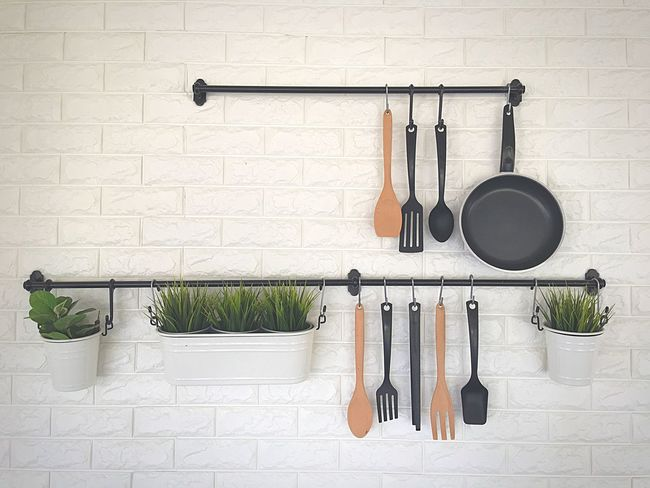 Herb In A Row Domestic Kitchen Kitchen Kitchen Utensil No People Indoors  Gallery_of_all