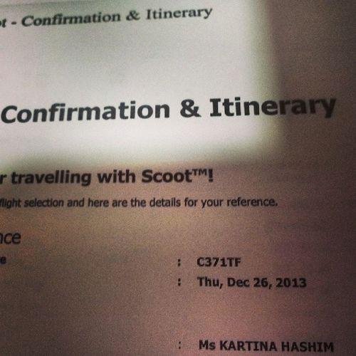 Finally got the tkts!!! Korea here I come!!!! Scoot50 %Palipaligonbuy 33rdburfdayinkorea Onlygirlsonboard myhubgonnafreakingmissedmebigtime10daysinkorea @xiaojaslyn @shao_tingting wohooo!!!!