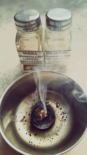 Espiritualidad Espiritual Limpieza De Hogar Humo Piedras Aromatherapy Mirra Inciensos Incienso  Pureza Espiritual