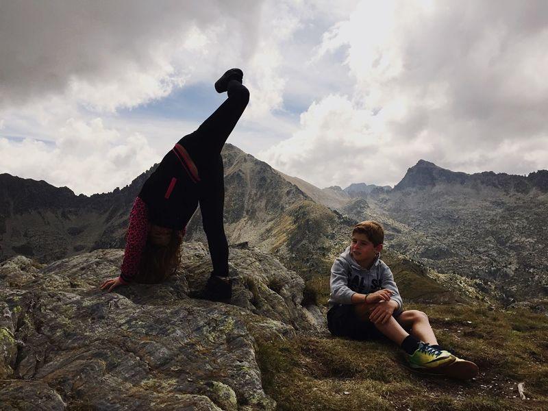My kids Andorra Family Landscape Iphone6 IPhoneography Mobilephotography Enjoying Life