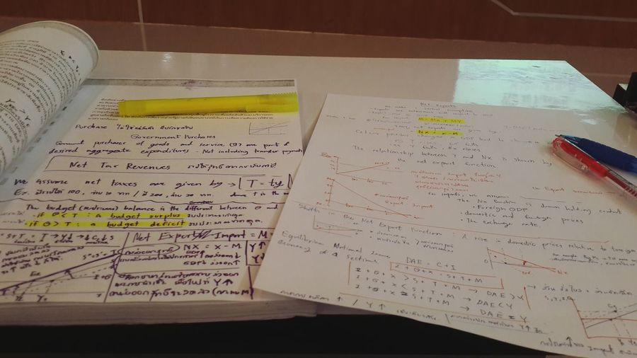 Macro Economic Study Time Student Life University Study Hard Exam Soon Go Go✌