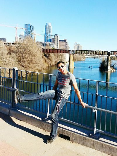Being wild today in Austin! Austin Texas Skyline Ladybirdlake Grafitti Epic Unitedstates
