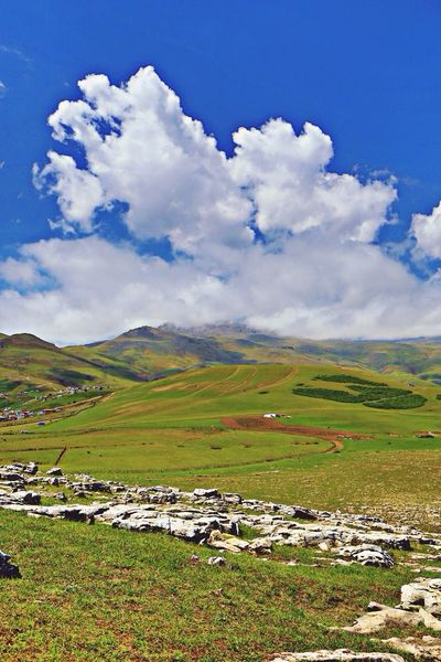 HDR landscape from soubatan village in talesh in iran, Landscape Iran Clouds