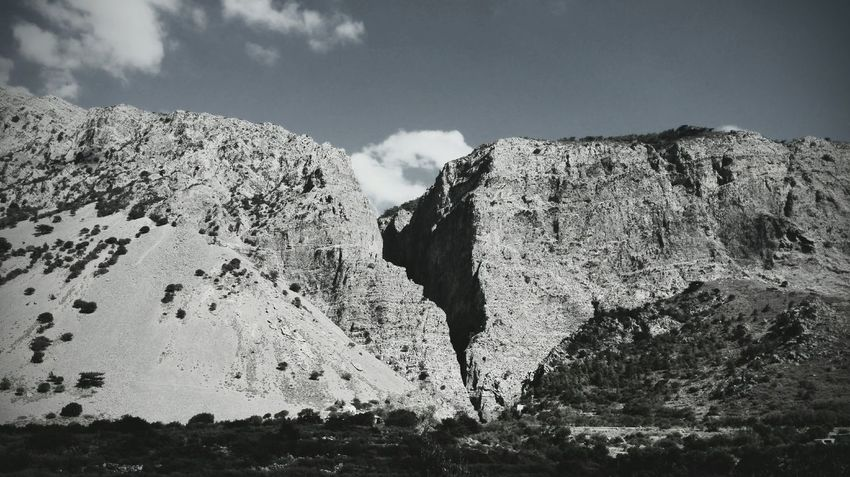 Mountain Greece Adventure Mystery Black & White Landscape Kriti Crevasse Honor Huawei Lord Of The Rings