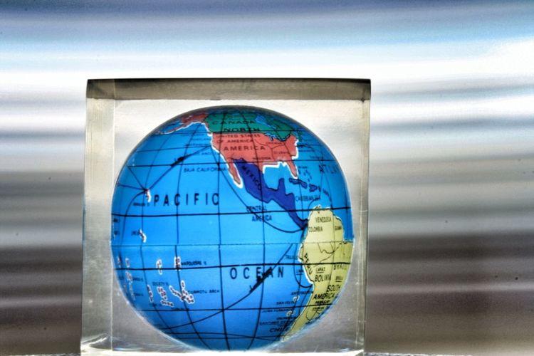 Globe Earth World Blur