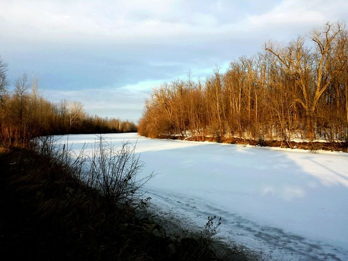 Icy Spring 2015 Spring Has Arrived First Day Of Spring Erie Canal Icy Water Canal Ice Spring Ice Cold Water