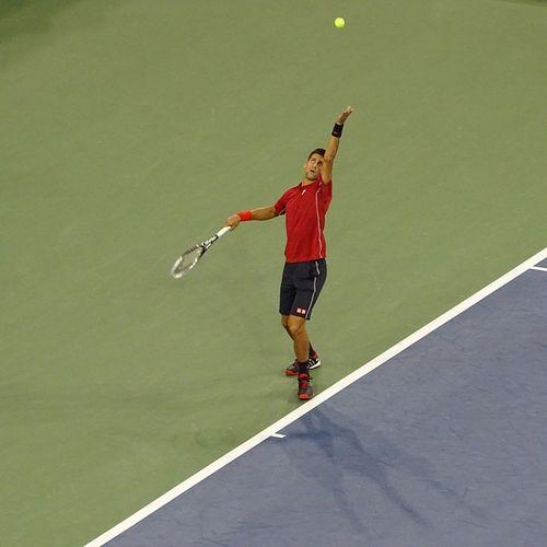 Go Djokovic go!!! Djokovic x Schwartzman Usopen NYC Kaplanexperience ESPN
