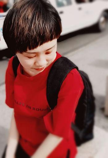 Ice Rink Child Childhood Red Ice Hockey Warm Clothing