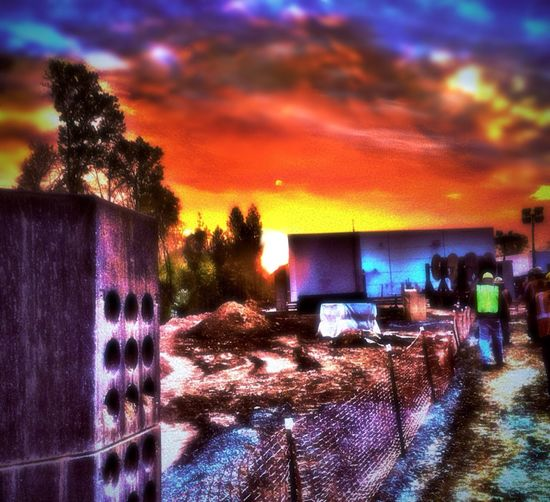 RePicture Travel away from home at Work Abstract Sunrise HDR