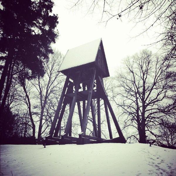 Tullinge kyrka Kyrka Tullinge Foto Token sweden snö vinter stockholm Botkyrka