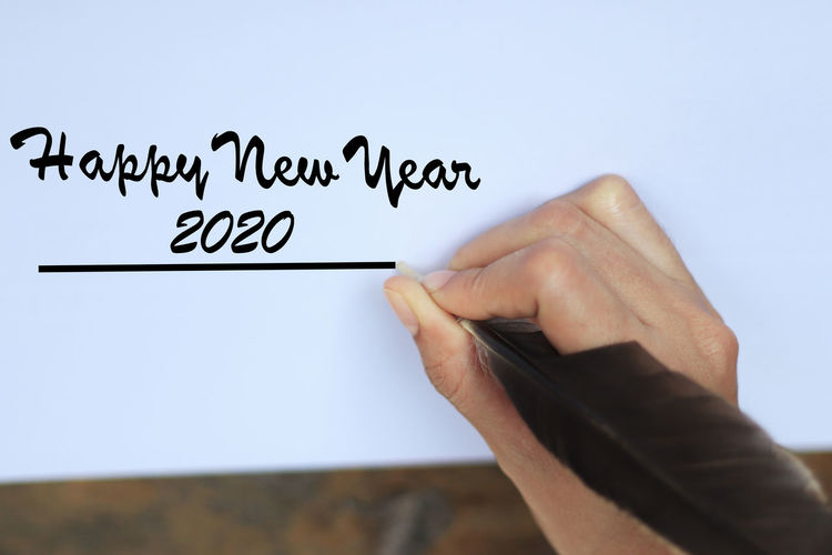Happy 2020 On a