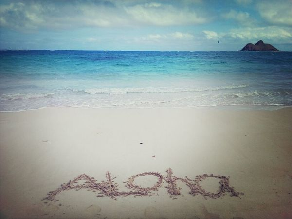 Aloha! \m/ shaka bruh! Beach Paradise Aloha Cloudporn Hawaii Shaka HiLife 808  Lanikai  #Hawaii Clouds