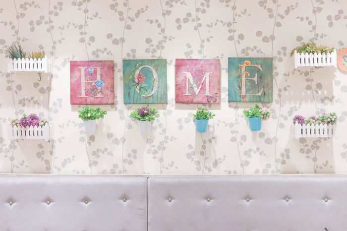 Indoors  Interior Interior Design No People Pink Plants And Flowers Room Room Decor EyeEmNewHere Millennial Pink