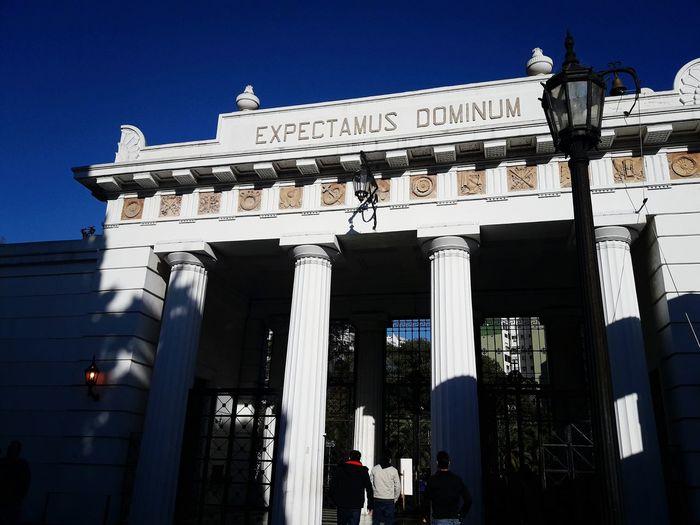 Expectamus Dominium Tourism Architecture History No People