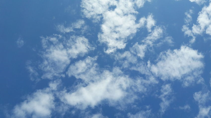 Blue Sky Nature Cloud - Sky Cloudscape Sky Only Backgrounds Weather Heaven Day Wispy Abstract Beauty In Nature Environment Outdoors Scenics Wind Sun Summer Sunlight
