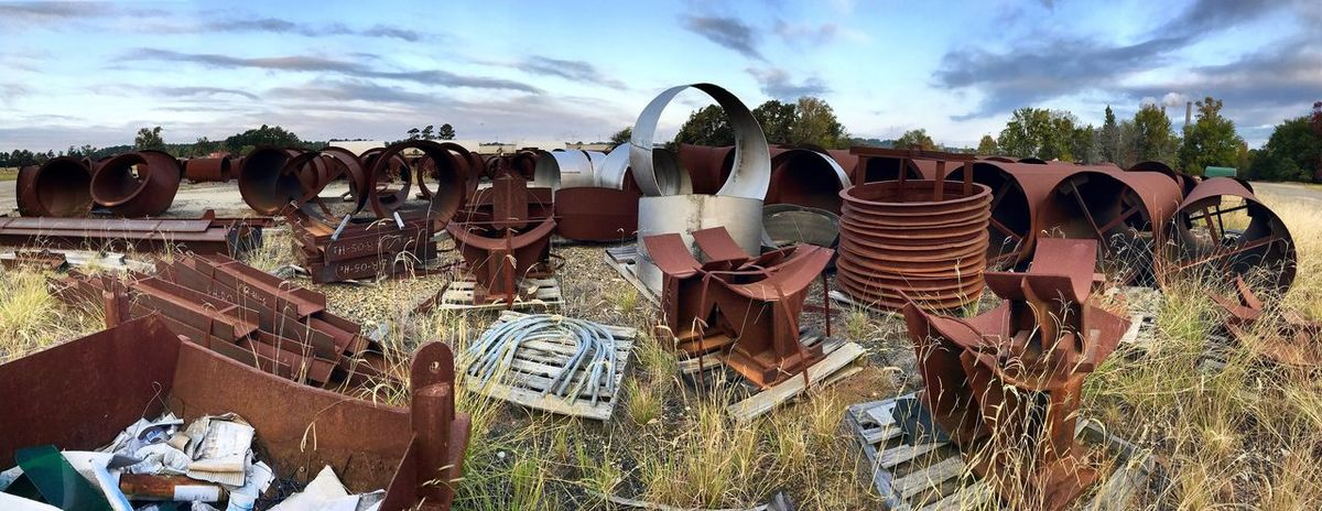 Laydown Rusty Power Plant Martin Lake State Park Check This Out No People Working Panoramic Beautiful Large Group Of Objects Variation Outdoors Pipe