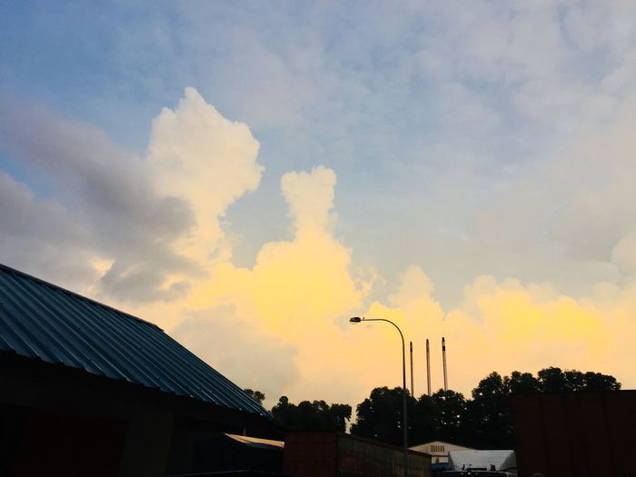 Yellowish. Sky Cloud - Sky Sunset