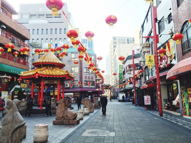 Japanese style 4 Kobe Nankinmachi EyeEm Japan 朝の 南京町 神戸 My Locality
