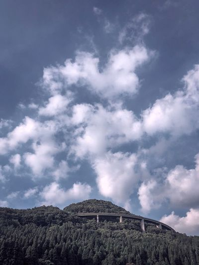 ShotOnIphone Cloud - Sky Sky Mountain Low Angle View Beauty In Nature Nature Scenics - Nature Tranquility Tree Land Outdoors No People Idyllic Landscape Mountain Peak Travel Destinations Tranquil Scene Environment Day Plant