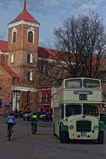 Bus Cathedral Doubleflowers Kaunas City Kaunas Jazz Kaunas Old Town