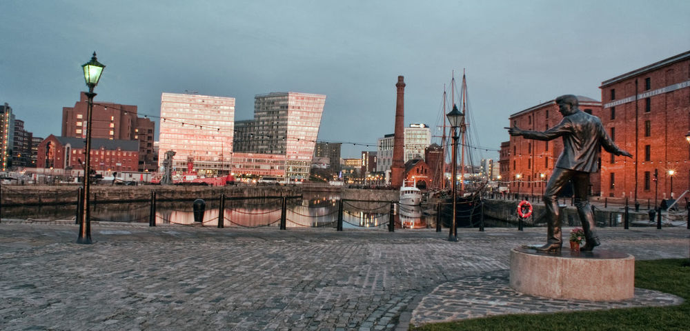 Liverpool Docks Architecture Architecture Building Exterior Built Structure City Cobbles Dock Docks Elvis Elvis Presley Heritage History History Through The Lens  Liverpool Mersey Merseyside River Sunset Tower Water Water Reflections