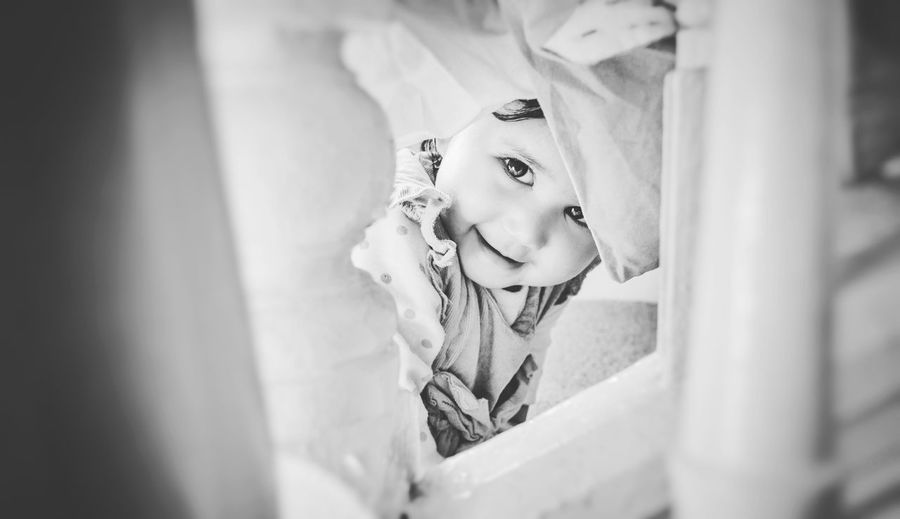 Daughter Portrait Photography B&w Photo B&W Portrait B&W Collection B&W Collections B&w Photography B&w Long Exposure Time Passes By Eye4photography  EyeEm Best Shots EyeEmbestshots Storytelling Childhood Happy DaychilFamily❤
