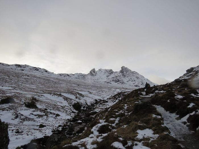 The Cobbler, Arrochar The Cobbler Mountain Snow Nature Winter Sky No People Beauty In Nature Cold Temperature Outdoors Day Scenics Mountain Range Landscape