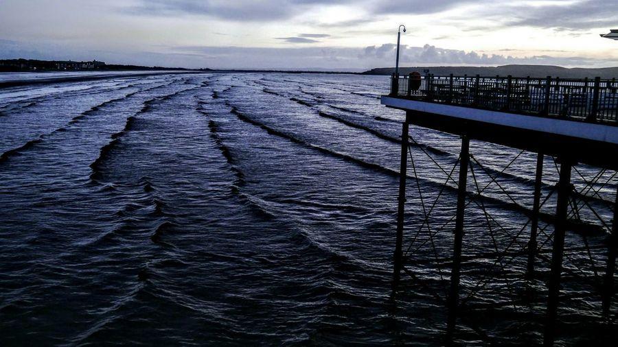 Westonsupermare WsM Pier Waves