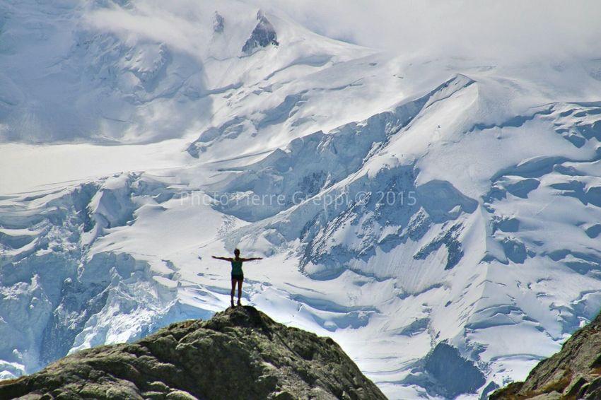 During Tour du Mont Blanc 2015. Guide: Pierre Greppi. Mont Blanc Alps Hiking Swiss Alps French Alps Italian Alps Trekking Aostavalley First Eyeem Photo