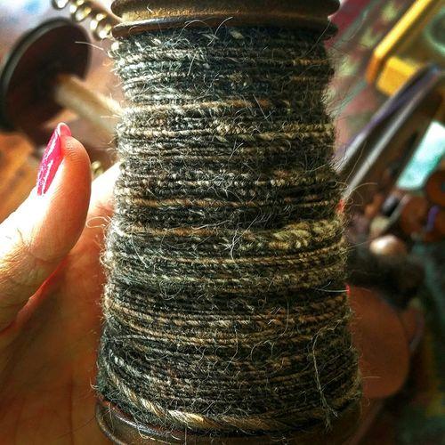Indoors  Close-up One Person Day Craft Fiber Wool Spun Spinning Yarn Yarn Roving Sheep Fiber Artist Spinning Wheel Morino Handmade EyeEm Diversity